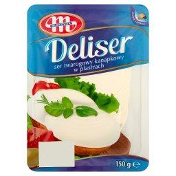 Deliser Ser twarogowy kanapkowy w plastrach