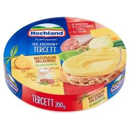 Ser kremowy w trójkącikach Tercett