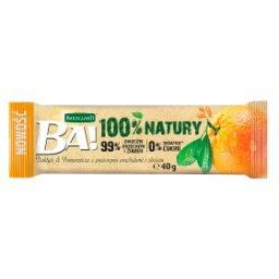 Ba! Baton daktyle & pomarańcza z prażonymi arachidami i zbożem