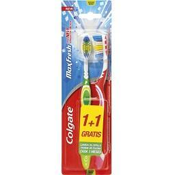 Escova de dentes, max fresh média
