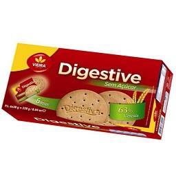 Bolacha Digestive sem açúcar