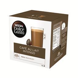Café com leite intenso