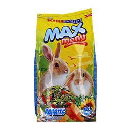 Max menu para coelhos anões