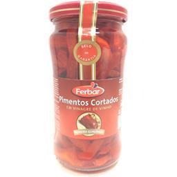 Pimentos cortados em vinagre