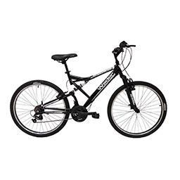 Bicicleta de Montanha Dupla Suspensão |Roda 26 - 18 ...