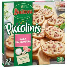 Buitoni picn pequena pizza carbonara 30g