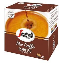 Café cápsulas cremoso