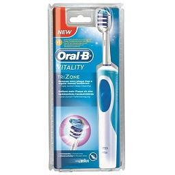 Escova de dentes elétrica, vitality trizone