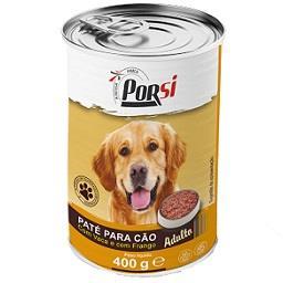 Comida húmida para cão de vaca e frango