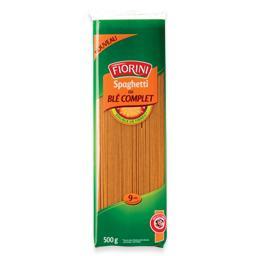 Massa esparguete integral