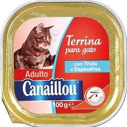 Alimento Húmido p/ Gato Truta/Espinafres