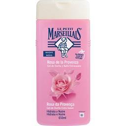 Gel de banho hidrata e nutre rosa da Provença