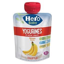Pacote yogurines banana