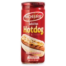 Salsichas hot dog em frasco, 4 un