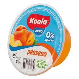 Gelatina zero % pêssego