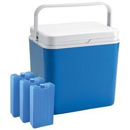 Geleira de 30 litros + 3 acumuladores