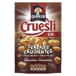 Cereais cruesli chocolate