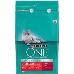 Alimento Seco p/ Gato Steril Vaca/Cereais