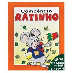 Manual Escolar Compêndio Ratinho Estudo do Meio e Hi...
