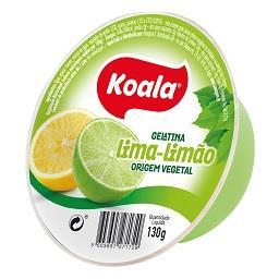 Gelatina de lima-limão