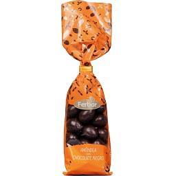 Amêndoas de chocolate negro