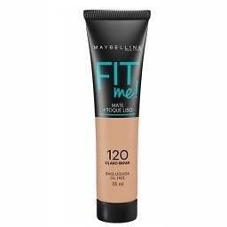 Base fit me matte 120 claro ímpar