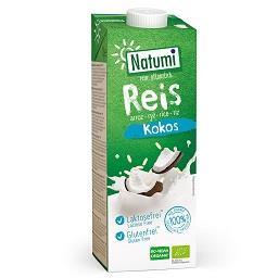 Bebida de arroz coco bio