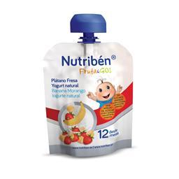 Fruta&Go Banana/Morango/Iogurte Natural