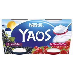Iogurte grego amora e framboesa