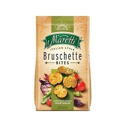 Bruschette legumes mediterrâneo