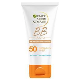 BB cream protector solar com cor rosto fp 50