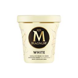 Gelado magnum pint branco