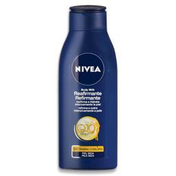 Loção corporal, refirmante, peles secas