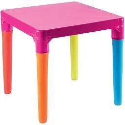 Mesa para criança, multicolor