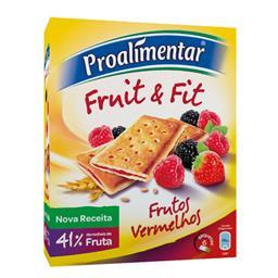 Bolachas fruit&fit frutos vermelhos