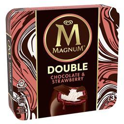Gelado Magnum double straw & choc