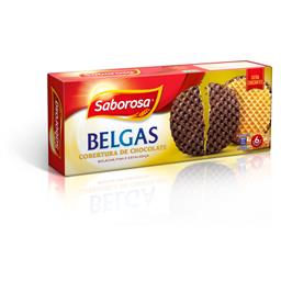 Bolacha de manteiga belga c/ chocolate
