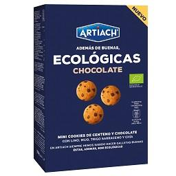 Bolachas ecológicas chocolate