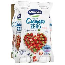 Iogurte líquido cremoso zero morango