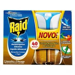 Inseticida Anti-Mosquitos Eléctrico Líquido 40 Noite...