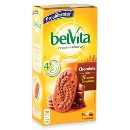 Bolachas belvita de chocolate