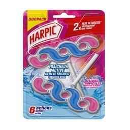 Harpic bloco sanitário fresh power flor tropical dup...