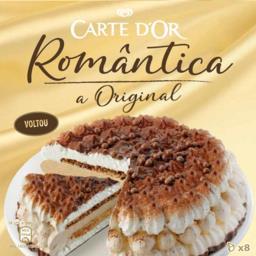 Carte d'or cake romantica