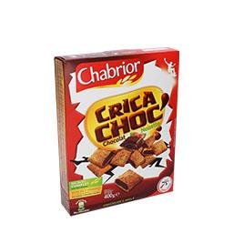 Cereais crica choc c/ chocolate e avelã