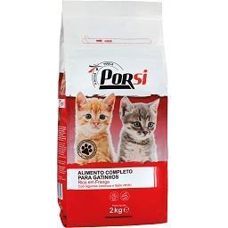 Ração seca para gatinhos frango e legumes