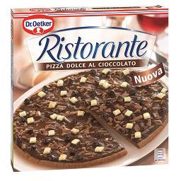 Pizza ristorante chocolate