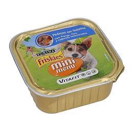 Comida Húmida para Cão Mini Pedaços Gelatina com Fra...