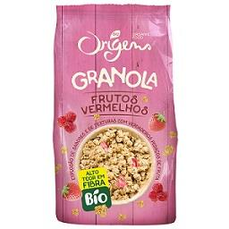 Granola com frutos vermelhos bio