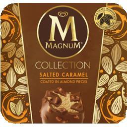 Gelado Magnum salted caramel & glazed almonds