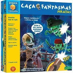 Jogo Caça Fantasmas Piratas